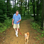 Enjoy nature with your best friend at Taylor Retirement Community