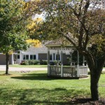 Relax in our Gazebo at Taylor Retirement Community in New Hampshire