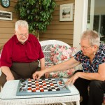 Enjoy some downtime with friends at Taylor Retirement Community