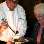 Head Chef Serves Dinner at Taylor Retirement Community in NH