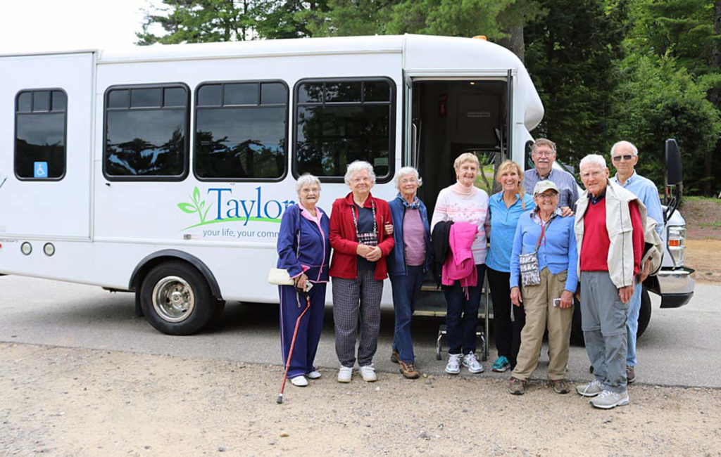 Residents at Taylor Community